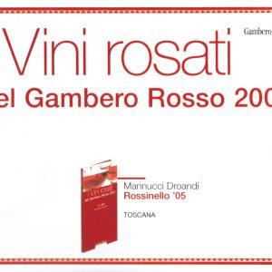 GAMBERO ROSSO I VINI ROSATI 2007